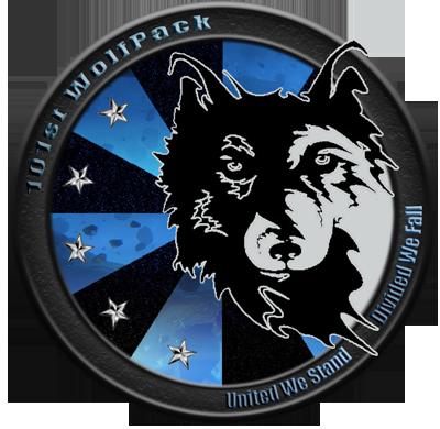 101st WolfPack logo